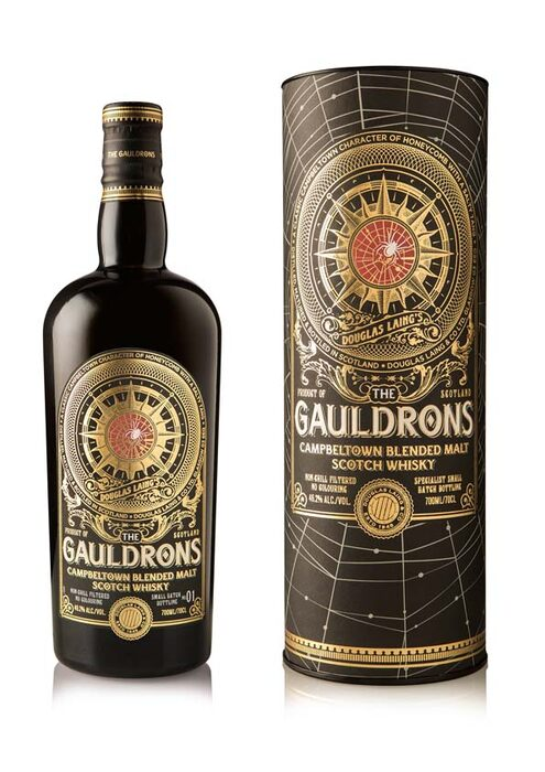 D.L.-GAULDRONS CAMPBELTOWN WHISKY - c. a.